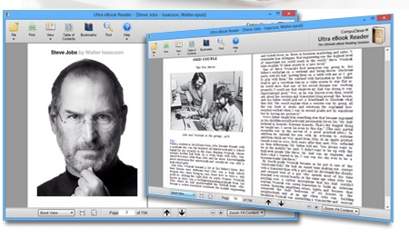 Ultra eBook Reader full screenshot